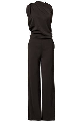 Draped Jumpsuit by Osman