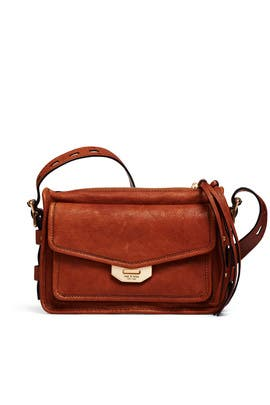 Brown Small Field Messenger Bag by rag & bone Accessories