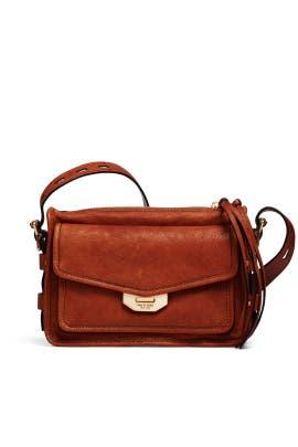 Brown Small Field Messenger Bag by rag & bone Accessories