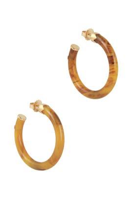 Caftan Earrings by Gas Bijoux