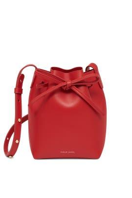 Flamma Calf Mini Mini Bucket Bag by Mansur Gavriel Accessories