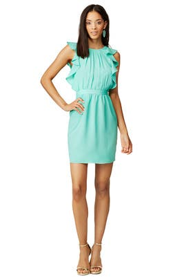 Aquamarine Katrina Dress by Shoshanna