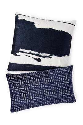 Velvet & Ink Pillow Bundle- Dark by West Elm