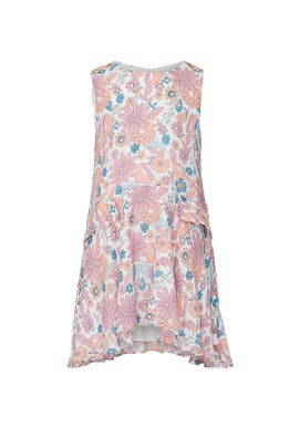 Kids Blossom Print Dress by Chloé Kids
