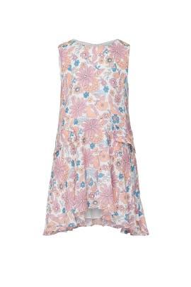 Kids Blossom Print Dress by Chloé Kids