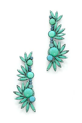 Turquoise Angelina Earrings by Elizabeth Cole