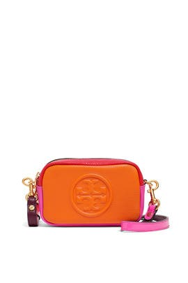 Crazy Pink Perry Colorblock Mini Bag by Tory Burch Accessories