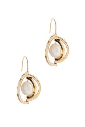Spinning Pearl Earrings by Tory Burch Accessories