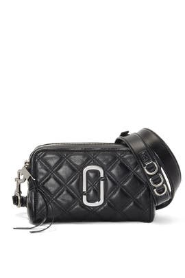 Black Quilted Softshot Bag	 by Marc Jacobs Handbags