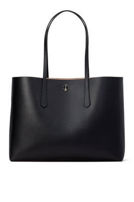 Black Large Molly Tote by kate spade new york accessories