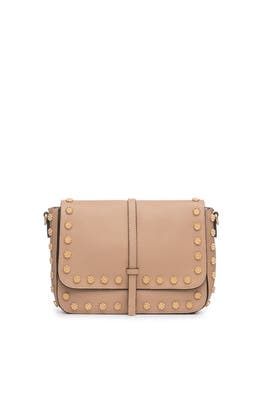 Daisy Stud Messenger Bag by Annabel Ingall