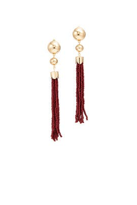 Beaded Duster Earrings by Ettika