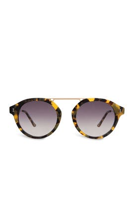 Tortoise Greenwich Sunglasses by Illesteva