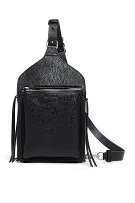 Black Elliot Sling Pack by rag & bone Accessories