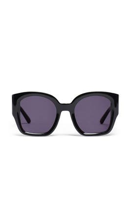 Black Checkmate Sunglasses by Karen Walker
