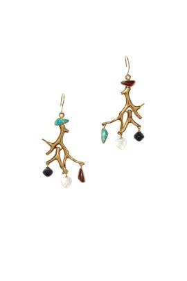 Lagoon Earrings by Lizzie Fortunato