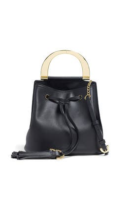 Biba Buckle Soft Bucket Crossbody by ZAC Zac Posen Handbags