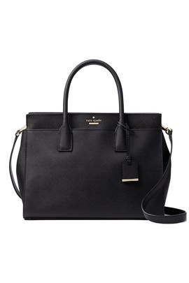 Black Candace Satchel by kate spade new york accessories