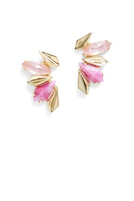 Modern Petal Earrings by Sarah Magid