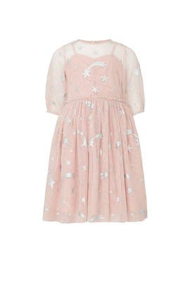 Kids Foil Stars Dress by Stella McCartney Kids