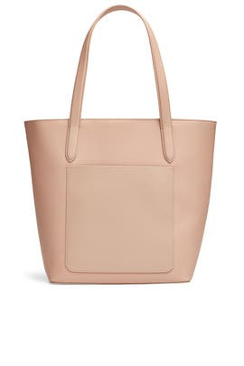 Taupe Pocket Tote by Tome x TDE