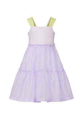 Kids Multi Smock Dress by Il Gufo Kids