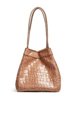 Taupe Rita Bag by Rejina Pyo Accessories