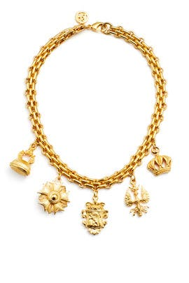 Royal Charm Necklace by Ben-Amun