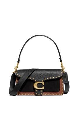 Black Tabby Shoulder Bag by Coach Handbags