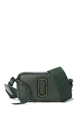 The Olive Snapshot Crossbody by Marc Jacobs Handbags
