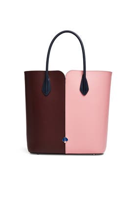 Pink Nicole Colorblock Tote by kate spade new york accessories