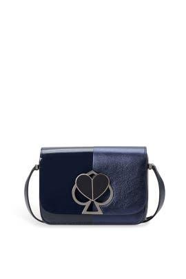 Blazer Blue Nicola Twistlock Shoulder Bag by kate spade new york accessories