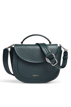 Green Hudson Saddle Bag by 3.1 Phillip Lim Accessories