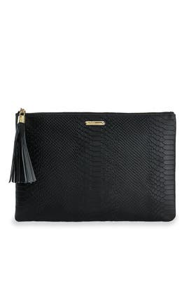 Python Uber Clutch by Gigi New York