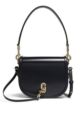 Black Saddle Bag by Marc Jacobs Handbags