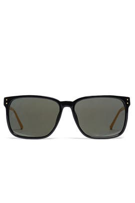 Black Gold Sunglasses by Linda Farrow