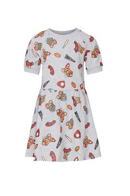 Kids Toys Dress by Moschino Kids