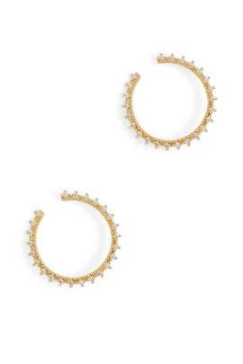 Gold Celine Wrap Studs by Gorjana Accessories