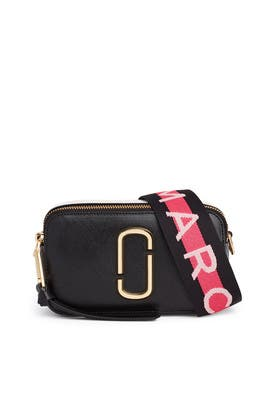 Black Snapshot Crossbody by Marc Jacobs Handbags