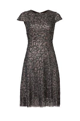 Broken Glass Dress by ML Monique Lhuillier