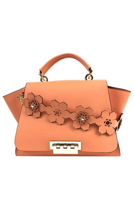 Coral Eartha Iconic Bag by ZAC Zac Posen Handbags