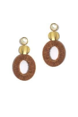 Harvest Moon Earrings by Lizzie Fortunato