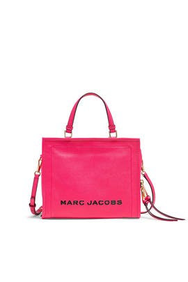 The Diva Pink Box Shopper by Marc Jacobs Handbags