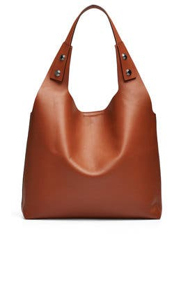 Light Umber Rory Tote by Tory Burch Accessories