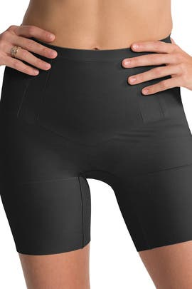 Black OnCore Mid-Thigh Short by Spanx