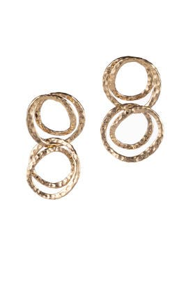 Coil Link Earrings by Alexis Bittar