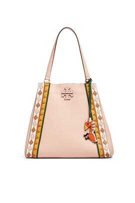 Patchwork McGraw Carryall Bag by Tory Burch Accessories