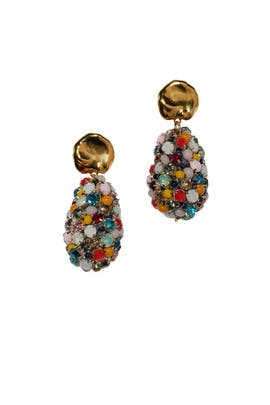 Roman Holiday Earrings by Lizzie Fortunato