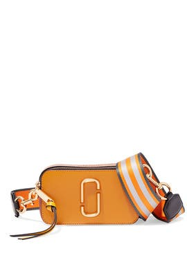 Golden Poppy Snapshot Crossbody by Marc Jacobs Handbags