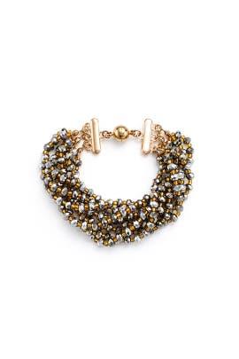 Silver Multi Strand Bracelet by Elise M.